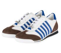 Sneaker NEW RUNNERS - weiss/ blau/ braun