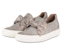Slip-on-Sneaker - grau metallic