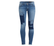 Skinny-Jeans - blue spice wash