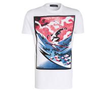 T-Shirt SKY PRINT - weiss