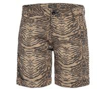 Shorts mit Nietenbesatz