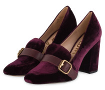Loafer-Pumps ELLISON - pflaume