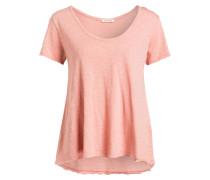 T-Shirt - rosé meliert