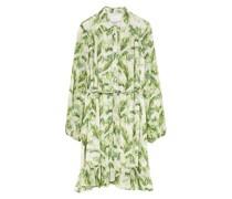 Hemdblusenkleid mit abnehmbarer Schluppe