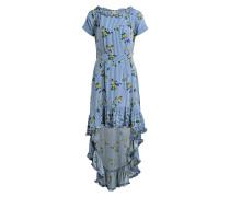 Kleid ALVILD - offwhite/ blau/ grün