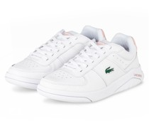 Plateau-Sneaker GAME ADVANCE - WEISS/ ROSA