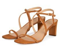Sandaletten MONROY - COGNAC