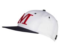 Cap - weiss/ navy