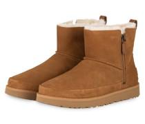 Boots CLASSIC ZIP MINI - CAMEL