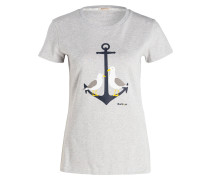T-Shirt WHITMORE - grau meliert