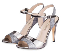 Sandaletten - silber metallic