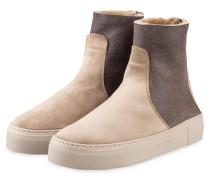 Plateau-Boots - BEIGE/ HELLGRAU