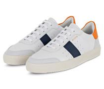 Sneaker DUNK - WEISS/ ORANGE/ DUNKELBLAU