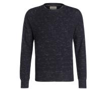 Sweatshirt SAMUEL - dunkelblau meliert