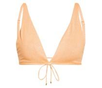 Triangel-Bikini-Top CITRINE mit Glitzergarn