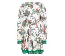 Kleid ZENIA mit Leinen