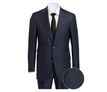 Anzug MANHATTAN DROP 7 Regular-Fit - blau