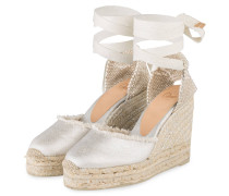 Wedges - silber metallic