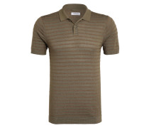 Strick-Poloshirt Slim Fit