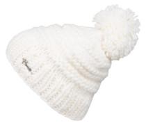 Grobstrick-Mütze JASMIN - weiss