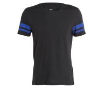 T-Shirt - schwarz/ blau