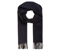 Schal aus Seide - navy/ schwarz