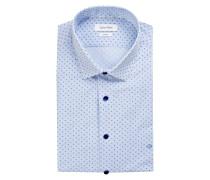 Hemd BARI Slim Fit - blau