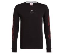 Langarmshirt ICED COLD - schwarz/ rot