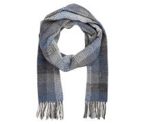 Schal - grau/ schwarz/ blau