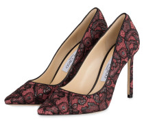 Pumps ROMY 100 - schwarz/ rose