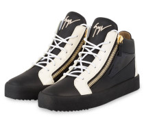 Hightop-Sneaker KRISS - SCHWARZ/ CREME