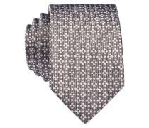Krawatte - beige/ weiss