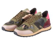 Sneaker CAMOUFLAGE - grün/ rosa/ schwarz