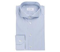 Hemd Slim-Fit - weiss/ hellblau / blau