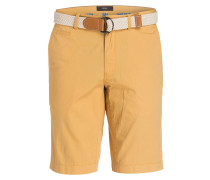 Chino-Bermudas BARI Regular-Fit - senfgelb