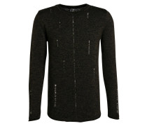 Pullover MARCO - khaki/ schwarz
