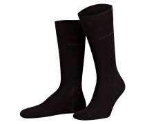2er-Pack Socken - schwarz