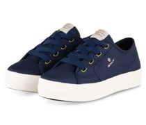 Plateau-Sneaker LEISHA - DUNKELBLAU