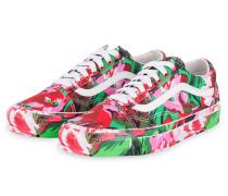 Sneaker - ROSA/ GRÜN/ ROT