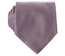 Krawatte - flieder/ rosa