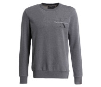 Sweatshirt HAXO - dunkelgrau meliert