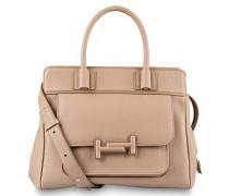 Handtasche DOUBLE T - beige