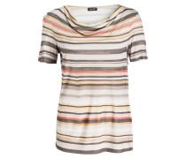 T-Shirt - ecru/ grau/ rosa