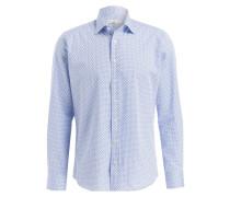 Hemd Regular-Fit - hellblau/ blau/ weiss