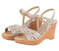 Wedges LUCE STAR - beige
