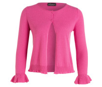 Cashmere-Cardigan - pink