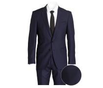 Anzug HUGE6/GENIUS4 Slim-Fit - blau