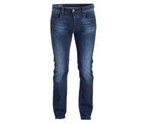 Jeans 3301 Straight-Fit - 89 dark aged