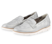 Penny-Loafer - grau