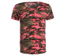 T-Shirt CELEBRATE - rot